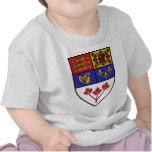 Canada coat of arms t shirt