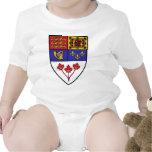 Canada coat of arms tee shirt