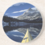 Canadá, Columbia Británica, Banff. Arco del kajak  Posavasos Diseño