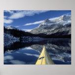 Canadá, Columbia Británica, Banff. Arco del kajak  Póster