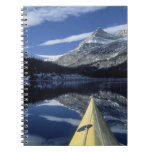 Canadá, Columbia Británica, Banff. Arco del kajak  Spiral Notebooks