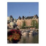Canadá, Columbia Británica, hotel de la emperatriz Tarjetas Postales