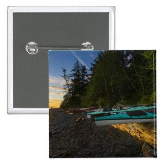 Canadá, Columbia Británica, isla de Vancouver, 2 Pin Cuadrado