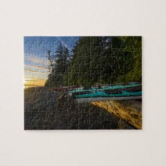 Canadá, Columbia Británica, isla de Vancouver, 2 Rompecabezas