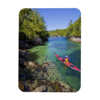 Canadá, Columbia Británica, isla de Vancouver. Mar Iman Rectangular