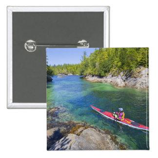 Canadá, Columbia Británica, isla de Vancouver. Mar Pin Cuadrado