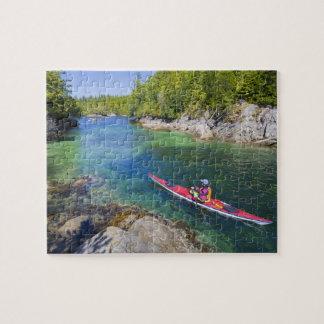 Canadá, Columbia Británica, isla de Vancouver. Mar Puzzles Con Fotos