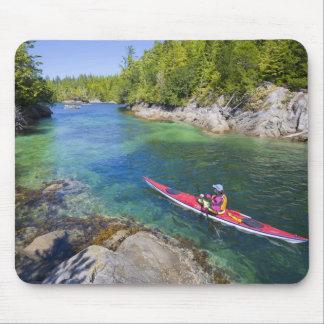 Canadá Columbia Británica isla de Vancouver Mar Tapetes De Ratones