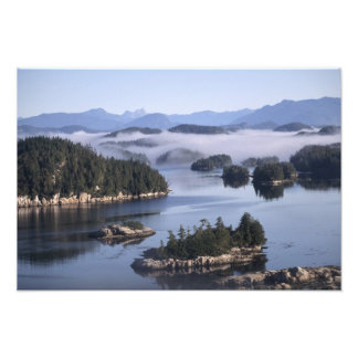 Canadá, Columbia Británica, Johnstone derecho Fotografía