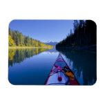 Canadá, Columbia Británica, lagos Bowron Imanes De Vinilo