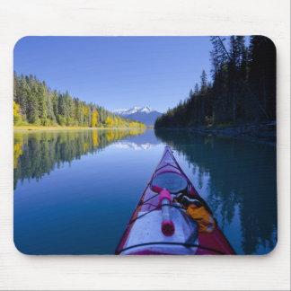 Canadá, Columbia Británica, lagos Bowron Tapete De Ratón