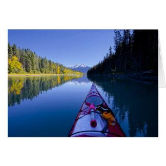 Canadá, Columbia Británica, lagos Bowron Tarjeta De Felicitación