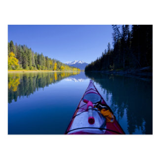 Canadá, Columbia Británica, lagos Bowron Tarjeta Postal