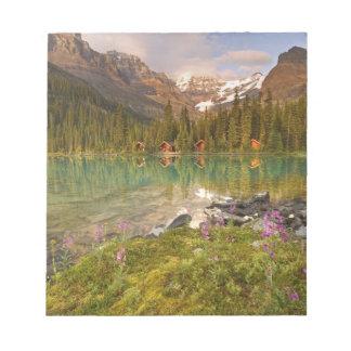 Canadá, Columbia Británica, parque nacional de Yoh Blocs De Notas