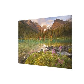 Canadá, Columbia Británica, parque nacional de Yoh Impresión En Lona