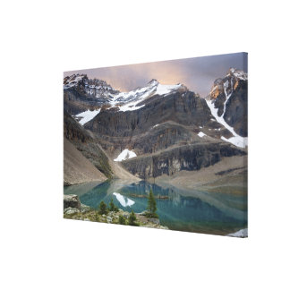 Canadá, Columbia Británica, parque nacional de Yoh Lona Estirada Galerias