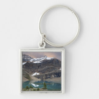 Canadá, Columbia Británica, parque nacional de Yoh Llavero Cuadrado Plateado