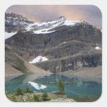 Canadá, Columbia Británica, parque nacional de Yoh Calcomanía Cuadradas Personalizadas
