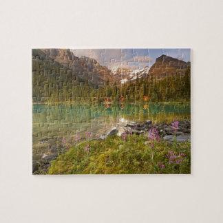 Canadá, Columbia Británica, parque nacional de Yoh Puzzles