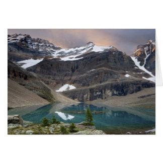 Canadá, Columbia Británica, parque nacional de Yoh Tarjeta De Felicitación