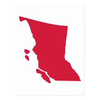 Canadá - Columbia Británica Tarjetas Postales