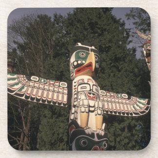 Canadá, Columbia Británica, Vancouver.  Nativo Posavasos