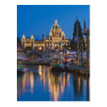 Canadá, Columbia Británica, Victoria, interno Tarjeta Postal