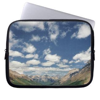 Canadá, Columbia Británica, Yoho NP. Nubes hinchad Mangas Portátiles
