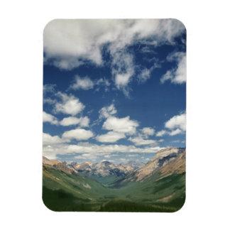 Canadá, Columbia Británica, Yoho NP. Nubes hinchad Imán Rectangular