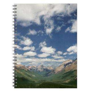 Canadá, Columbia Británica, Yoho NP. Nubes hinchad Libretas Espirales