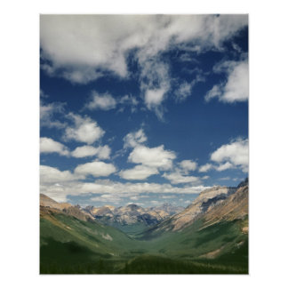 Canadá, Columbia Británica, Yoho NP. Nubes hinchad Posters