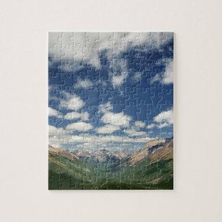 Canadá, Columbia Británica, Yoho NP. Nubes hinchad Rompecabeza