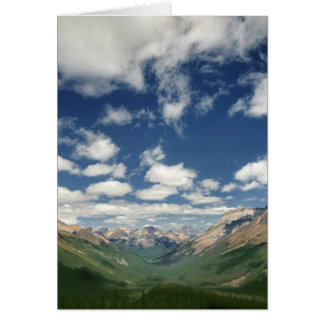 Canadá, Columbia Británica, Yoho NP. Nubes hinchad Tarjeta