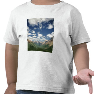 Canadá, Columbia Británica, Yoho NP. Nubes Camiseta