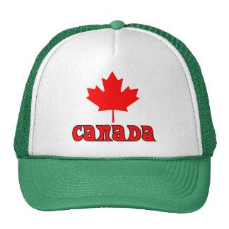CANADÁ con la hoja de arce roja Gorros