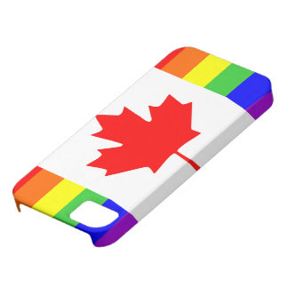 canada country gay flag symbol lesbian homosexual iPhone SE/5/5s case