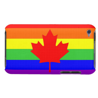 canada country gay proud rainbow flag iPod touch case