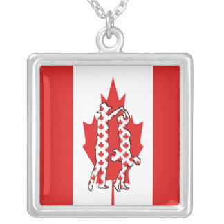 CANADA COUNTRY WESTERN DANCE  NECKLACE