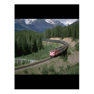 Canada, CP Rail FP-7 #1406_Trains of the World Postcard