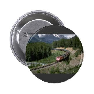 Canada, CP Rail FP-7 Pinback Button