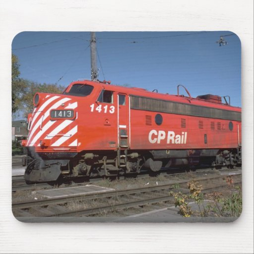 Canada, CPR FP-7A Mouse Pad