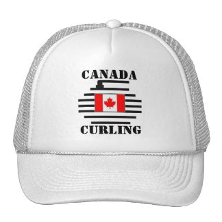 Canada Curling Trucker Hat