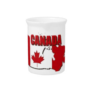 CANADA CUSTOM GIFTS DRINK PITCHER
