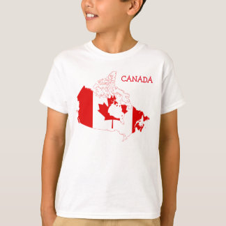 Canada Customizable Kid's t-shirt