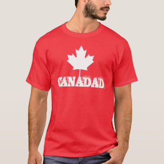 Canada Dad - Canadian Father's Day Gift - Canadad T-Shirt