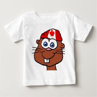Canada Day Beaver Baby shirt 2