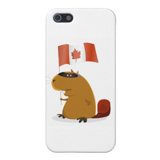 Canada Day Beaver iPhone SE/5/5s Cover