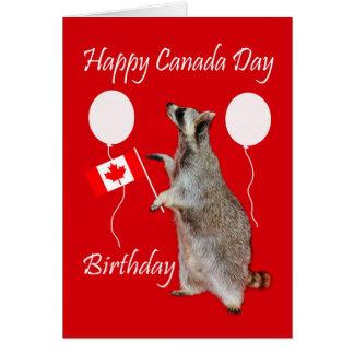 Canada Day Birthday Greeting Card