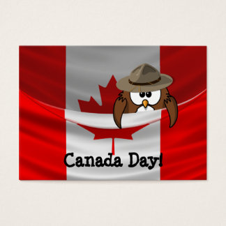 Canada Day Business Card