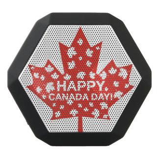 Canada Day Celebration Black Bluetooth Speaker